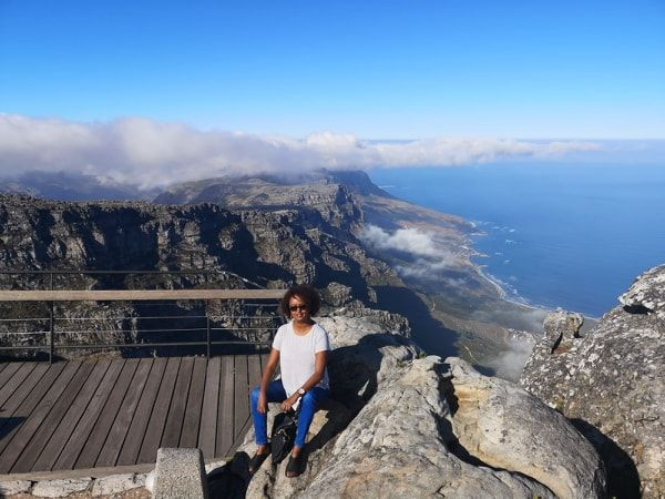 Archer & Gaher Adventures | Hafsa | Meet the Founders | Table Mountain